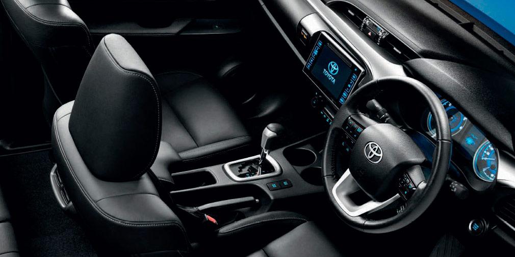 Toyota выпустит люксовую версию пикапа Hilux 2018 модельного года