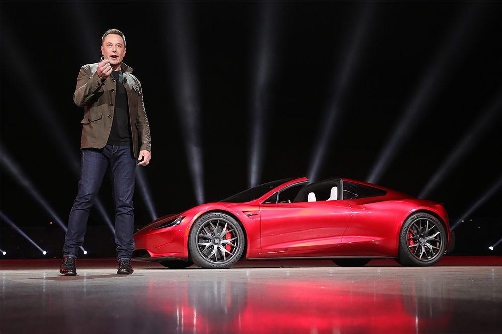 Маск: Tesla Roadster станет «самым быстрым серийным спорткаром в мире»
