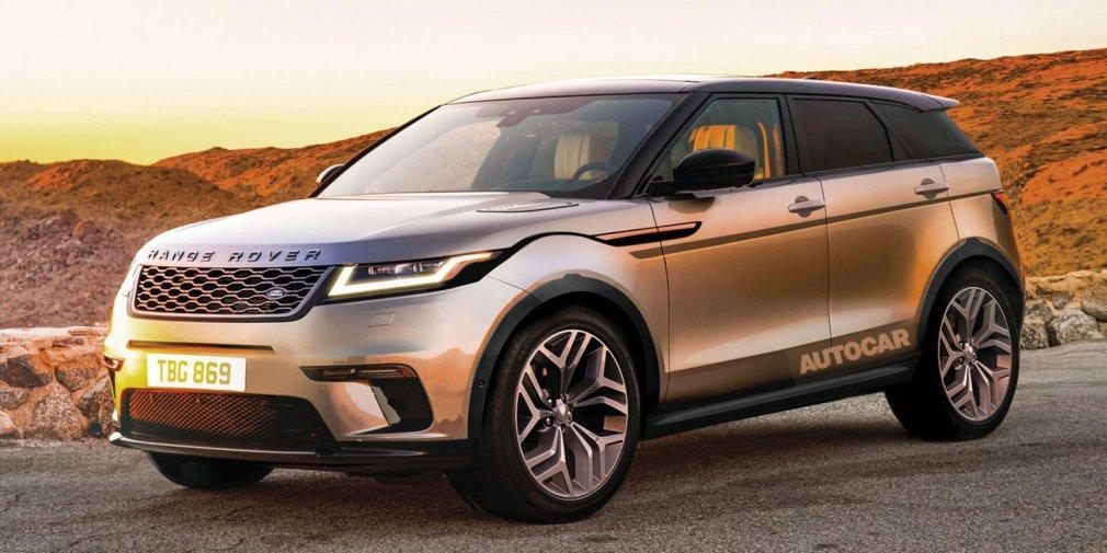 Стала известна дата премьеры Land Rover Evoque нового поколения