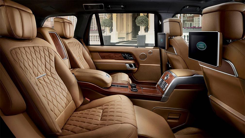 Land Rover представил самую дорогую версию внедорожника Range Rover
