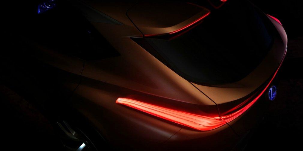 Lexus представил первый тизер нового кроссовера Lexus LF-1