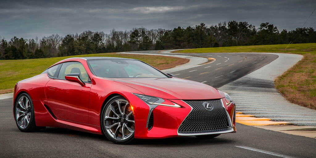 Спортивный Lexus LC получит «заряженную» версию F