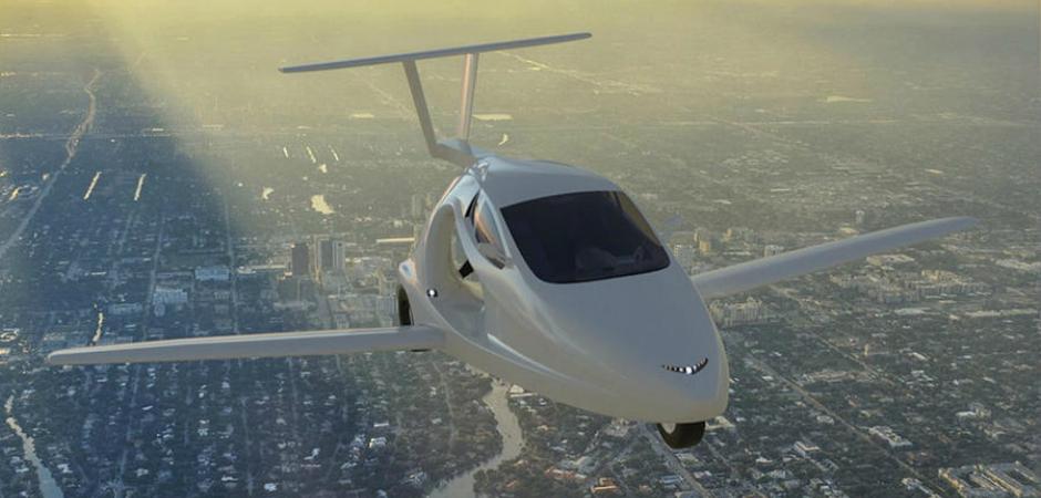 Продажи первого в мире летающего спорткара стартуют в 2018 году