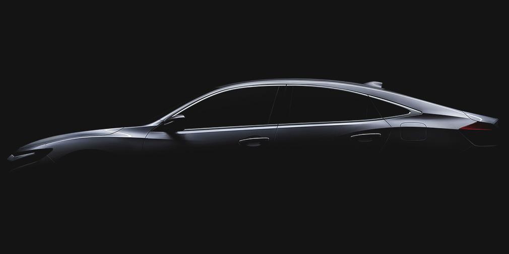 В Сети опубликован первый тизер Honda Insight третьего поколения