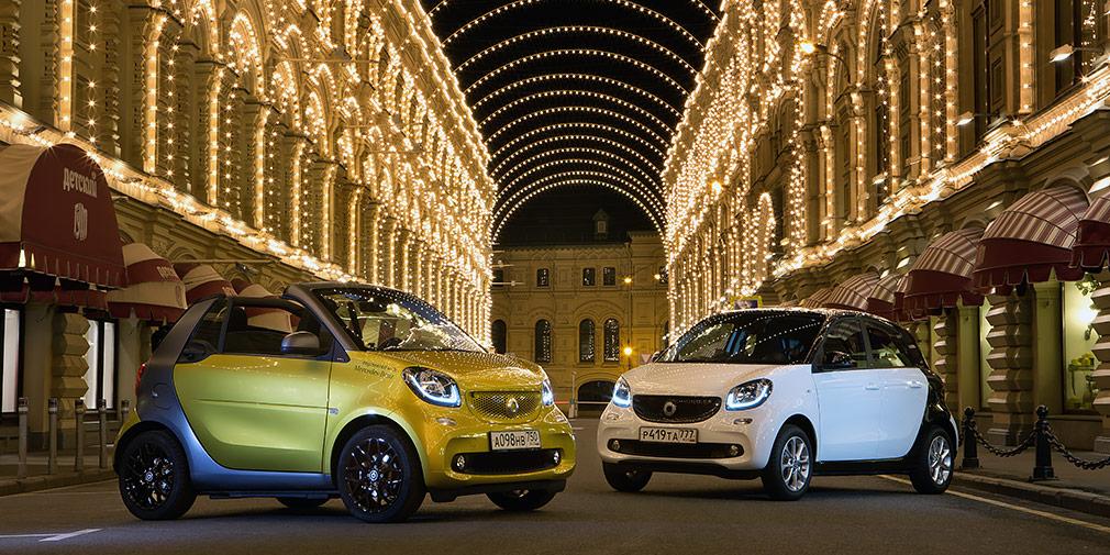 Автомобили smart с 1 января в России получат «Особую серию»