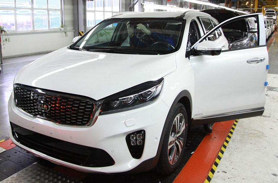 «Автотор» начал серийное производство обновленного KIA Sorento Prime