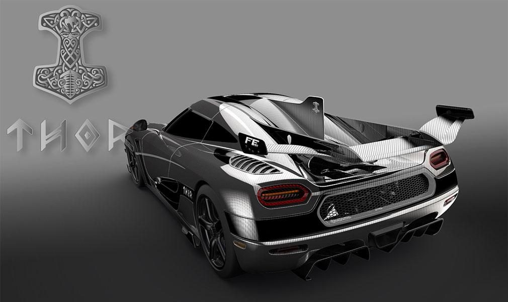 Koenigsegg готовит к премьере инкрустированный бриллиантами гиперкар Agera FE