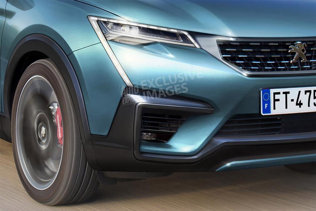 Peugeot в 2020 году выпустит новый купеобразный кроссовер 4008