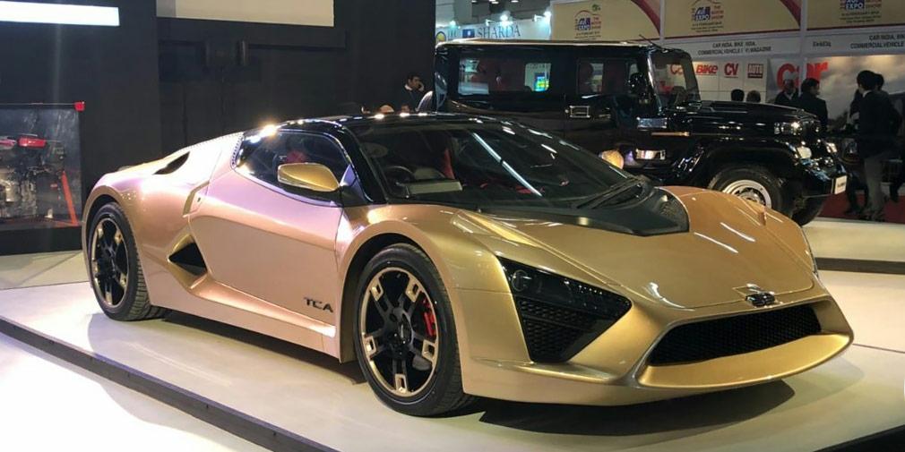 Индийская компания DC Design представила 320-сильный спорткар TCA