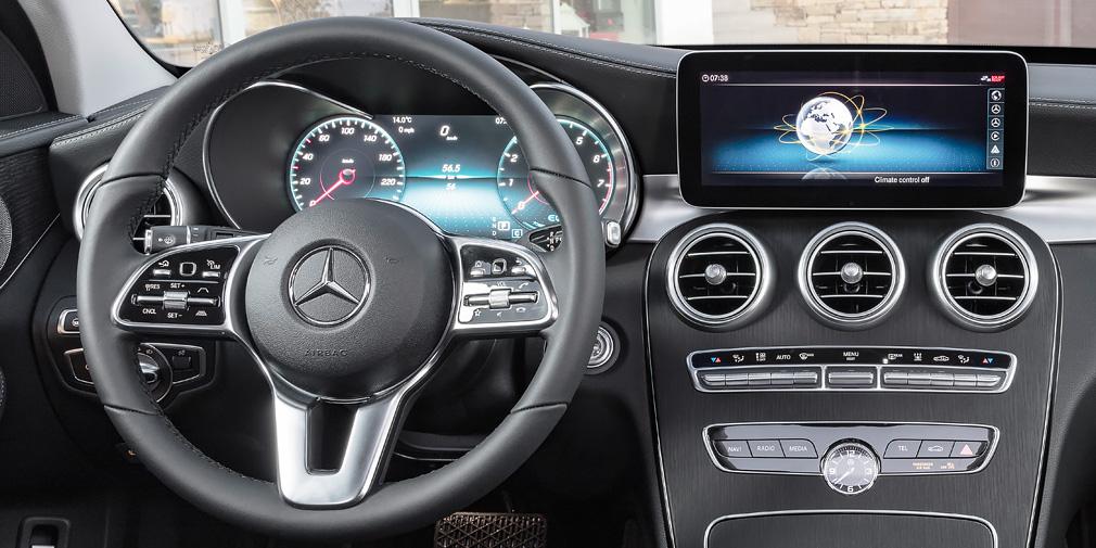 Mercedes-Benz представил обновленный C-Class до премьеры в Женеве