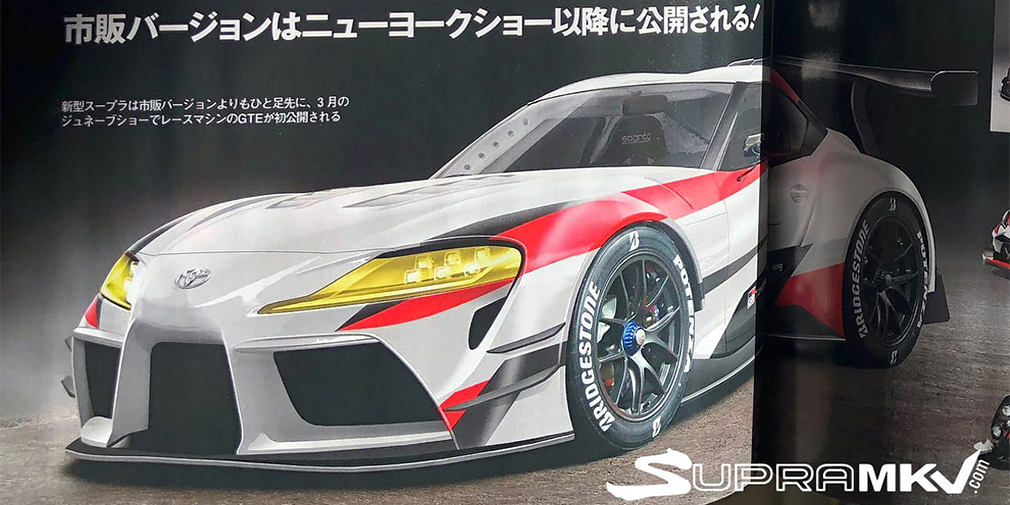 Новая Toyota Supra будет быстрее Porsche 911 с новой «шестеркой»