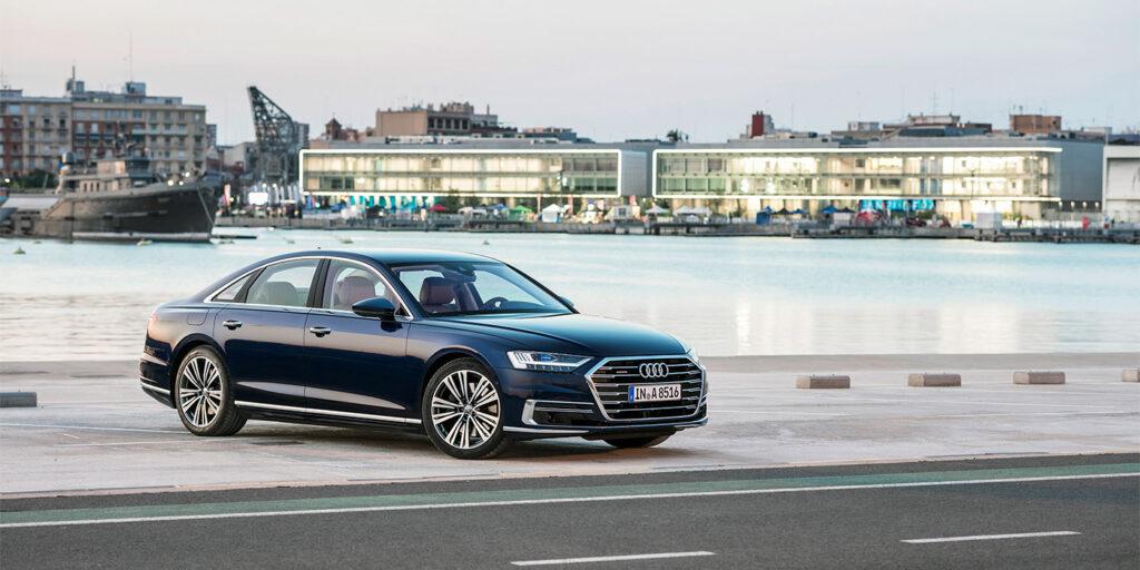 В России стартовал прием заказов на седан Audi A8 новой генерации