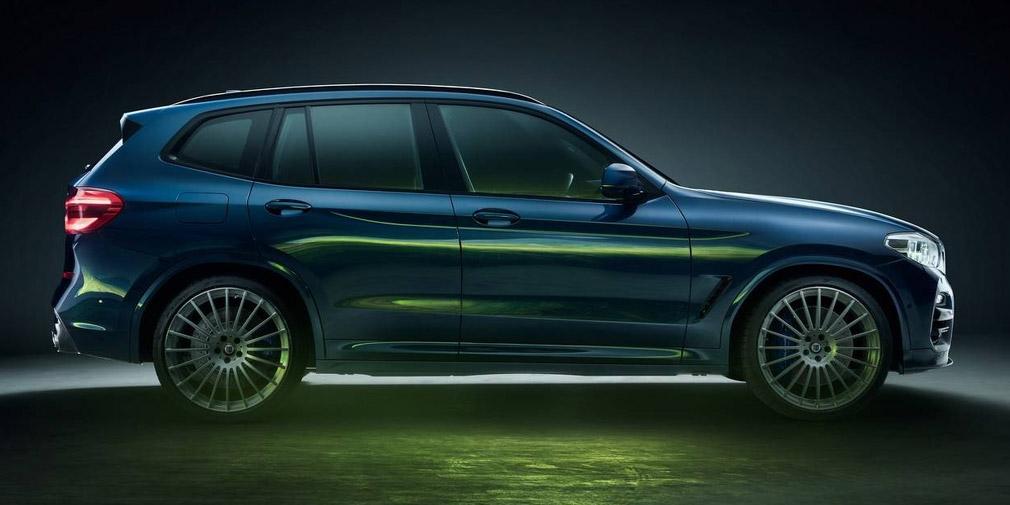 Alpina представила дизельный кроссовер Alpina XD3