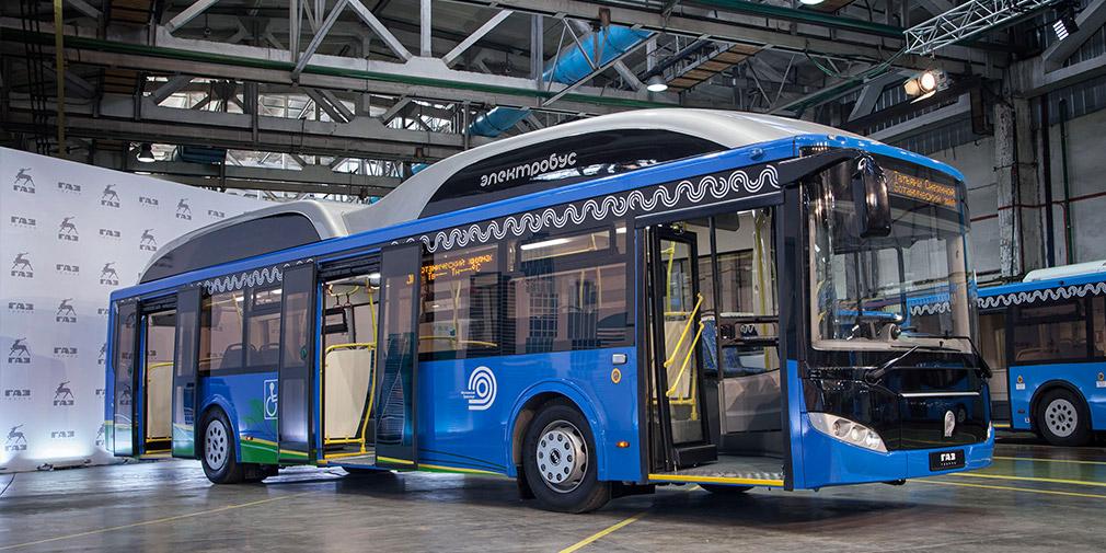 «ГАЗ» представила новый электробус сосверхбыстрой зарядкой