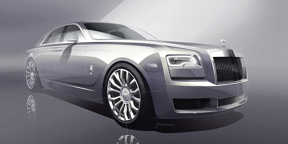 Rolls-Royce сделает 35 эксклюзивных Ghost в честь Silver Ghost 1907