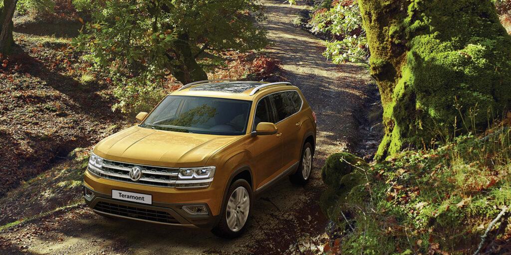 Volkswagen в России анонсировала старт предзаказов на новый Teramont
