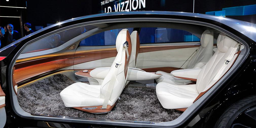 Volkswagen представила представительский седан будущего I.D. Vizzion
