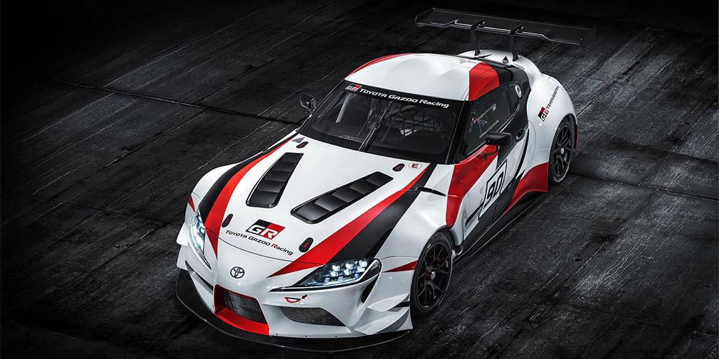 Концепт гоночной Toyota Supra представили в Женеве