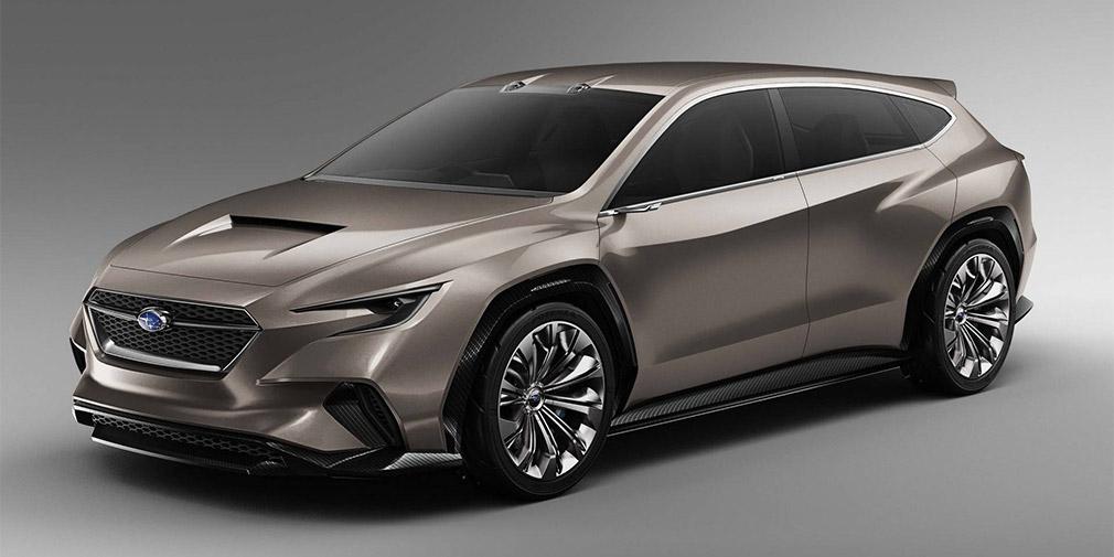 Subaru представила новый концепт универсала Subaru VIZIV Tourer