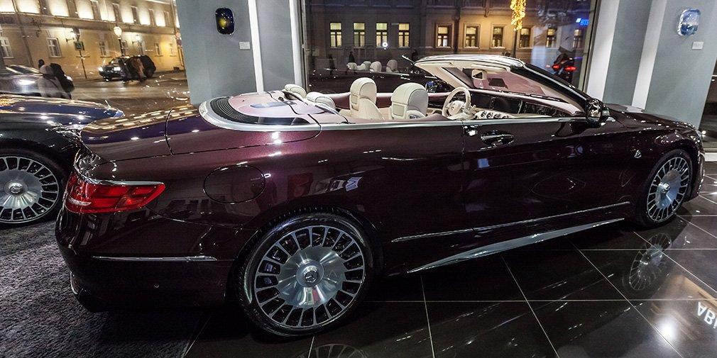 Самый дорогой Mercedes-Maybach оценили в 28 миллионов рублей
