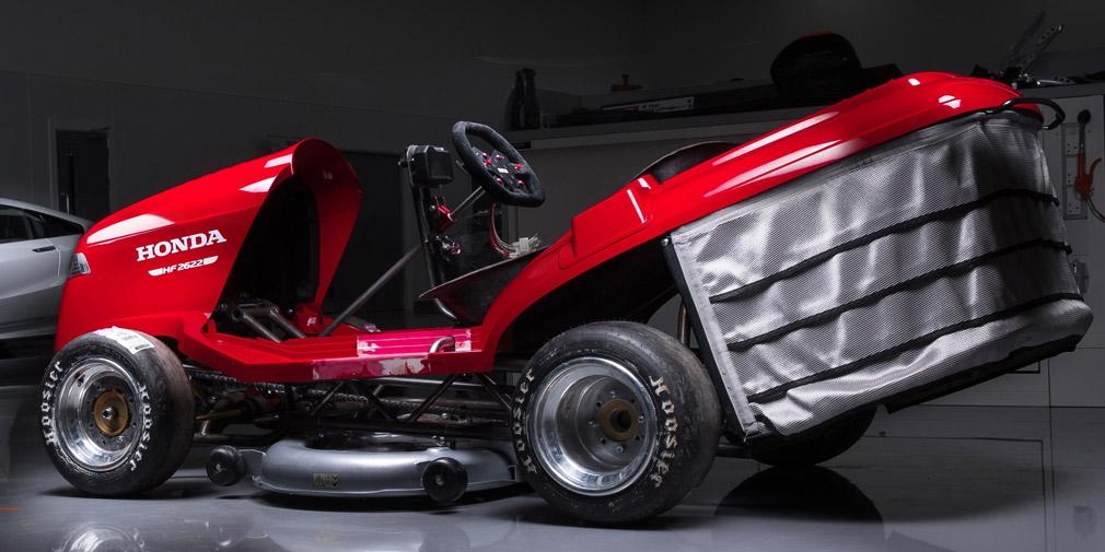 Honda выпустит новую версию самой быстрой газонокосилки в мире