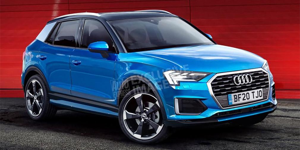 Audi в 2020 году выпустит самый маленький кроссовер Q1