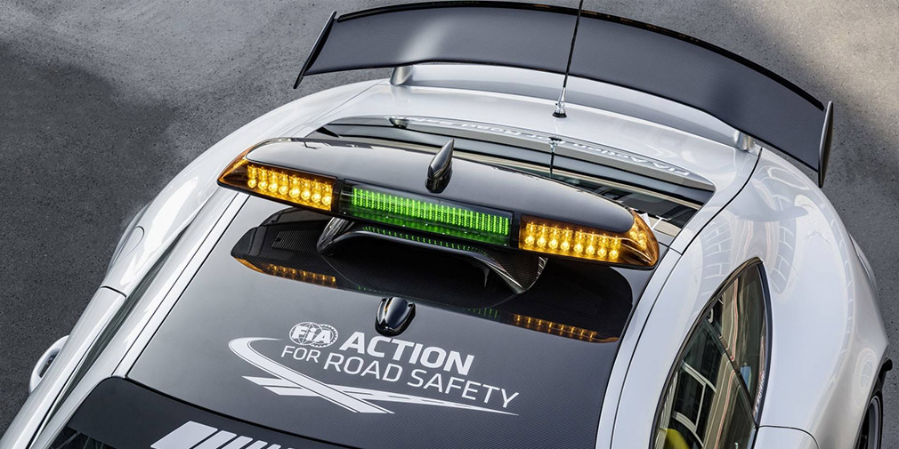 Mercedes-AMG рассекретила новый пейс-кар для Формулы-1