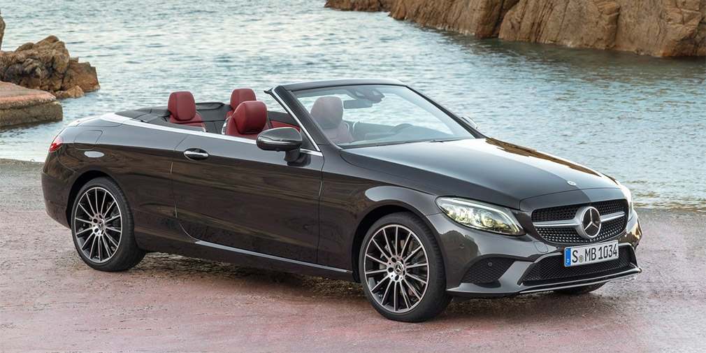 Mercedes-Benz обновил и «прокачал» купе и кабриолеты C-Class