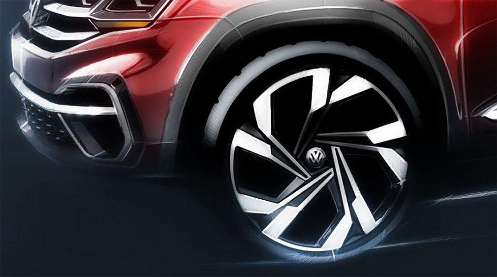 Volkswagen анонсировала премьеру спортивного Volkswagen Teramont