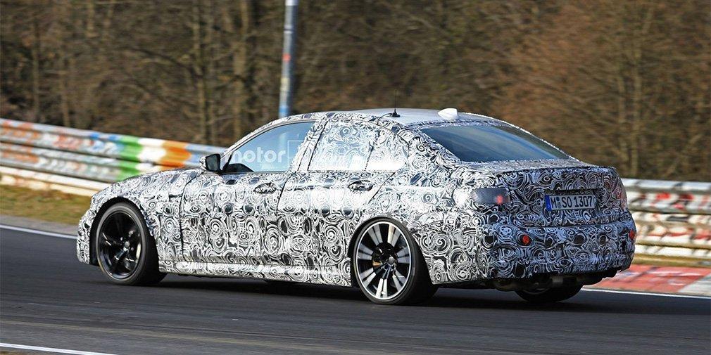 Седан BMW M3 в 2019 году оснастят 500-сильным мотором
