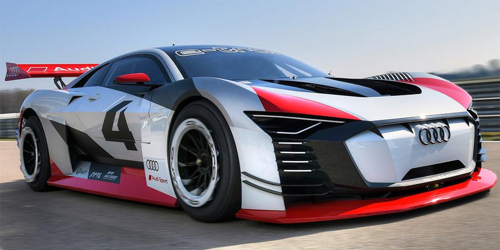 Audi представила 815-сильный суперкар e-tron Vision Gran Turismo