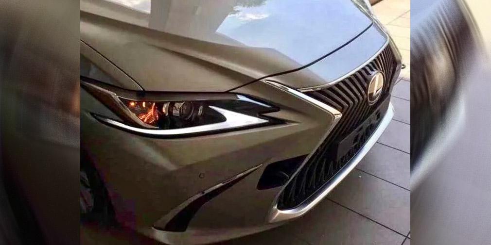 Lexus представит новое поколение седана Lexus ES в Пекине