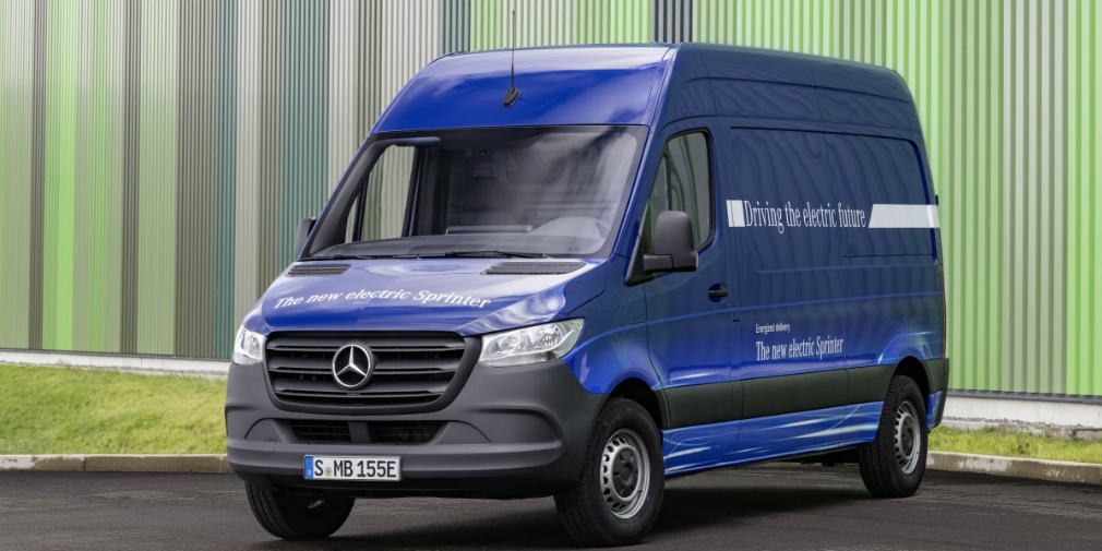 Benz поведали  подробности обэлектрической версии коммерческого фургона Sprinter