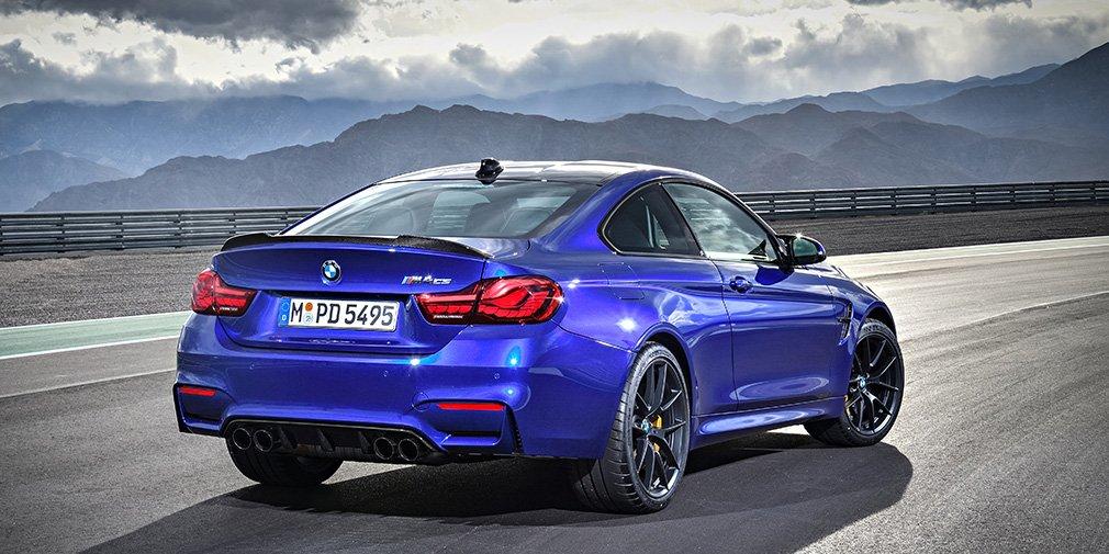 Купе BMW M4 CS добралось до российских дилеров
