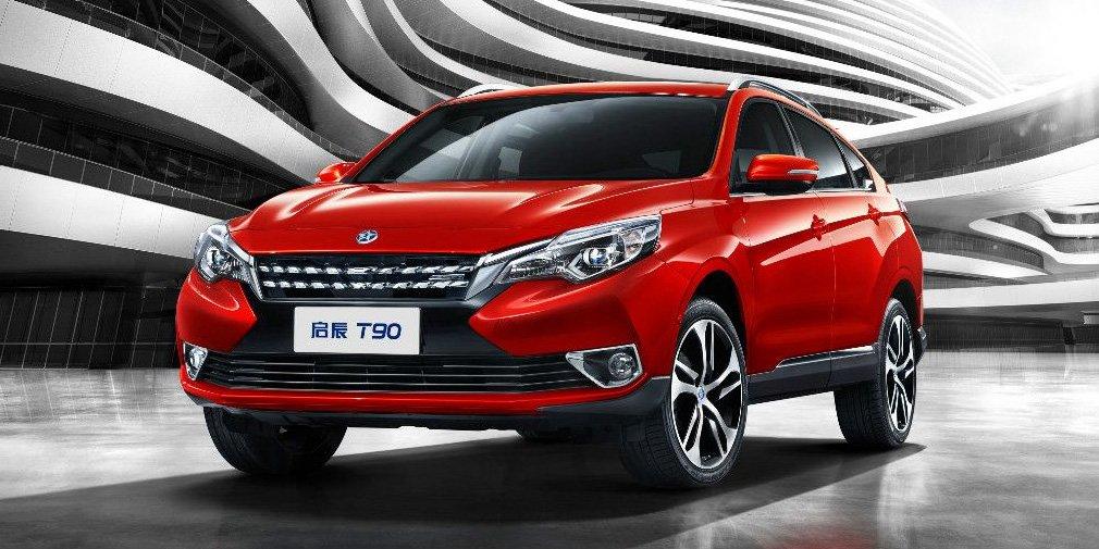 Dongfeng и Nissan представили кроссовер Venucia Х в стиле Range Rover