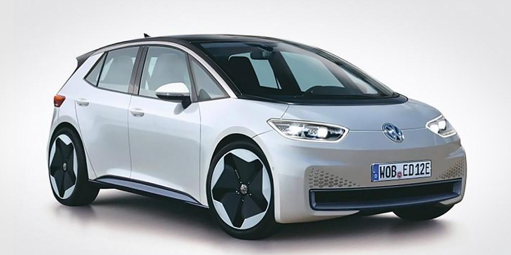 Опубликовано первое изображение электромобиля Volkswagen Neo