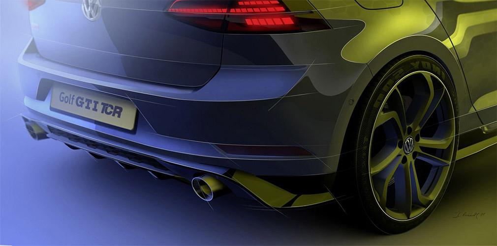 Volkswagen Golf GTI TCR «гражданской» версии представлен на тизере