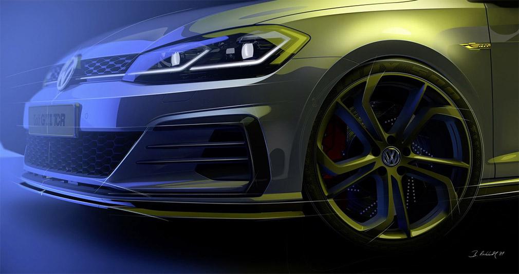 Volkswagen выпустит гоночный Golf на дороги