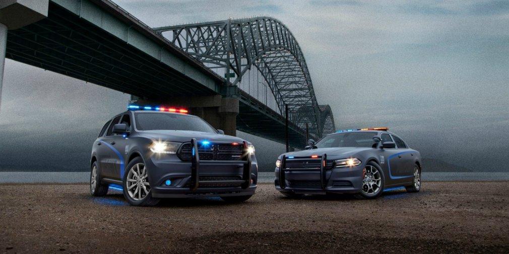 Внедорожник Dodge Durango превратили в полицейский автомобиль