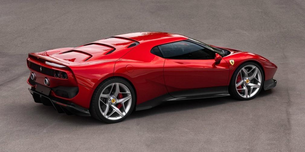 Ferrari показала единственный экземпляр эксклюзивного купе Ferrari SP3