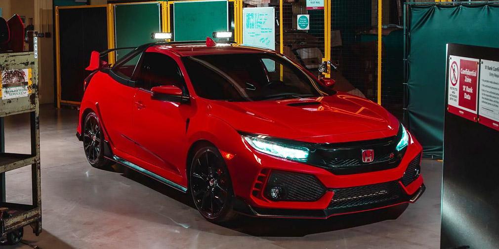 Инженеры Хонда  создали «заряженный» пикап наоснове Civic Type R