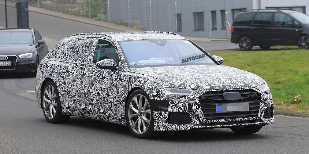 Новый универсал Audi S6 получит двигатель от Porsche Panamera
