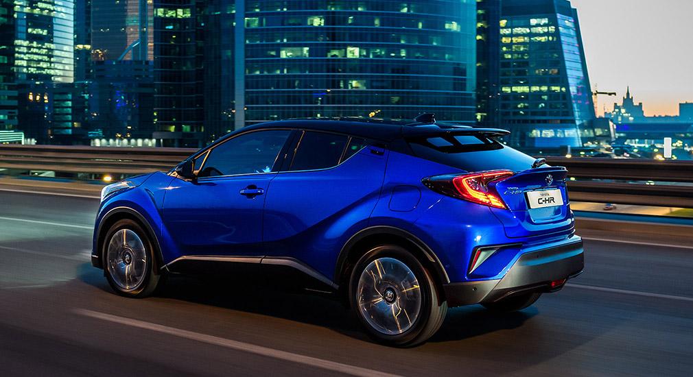 Продажи нового кроссовера Toyota C-HR на рынке РФ стартуют 1 июля