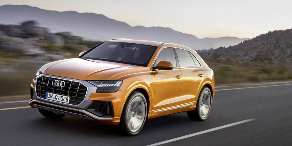 Audi привезет в Россию дизельный кроссовер Audi Q8