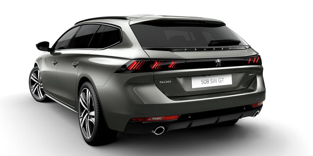 Компания Peugeot представила новый универсал Peugeot 508 SW