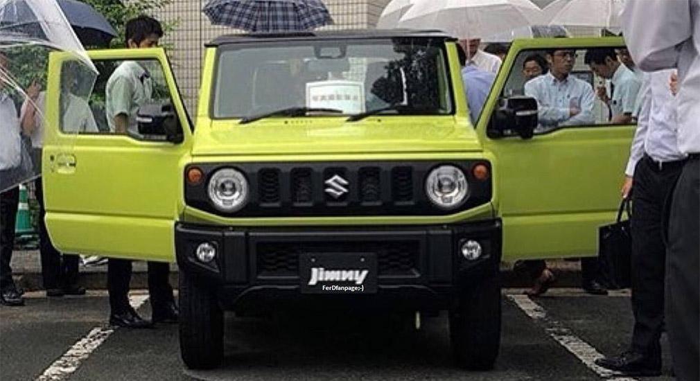Внешность нового Suzuki Jimny рассекретили до премьеры