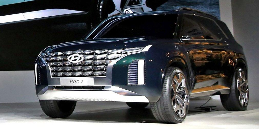 Hyundai представила дизайн будущих кроссоверов