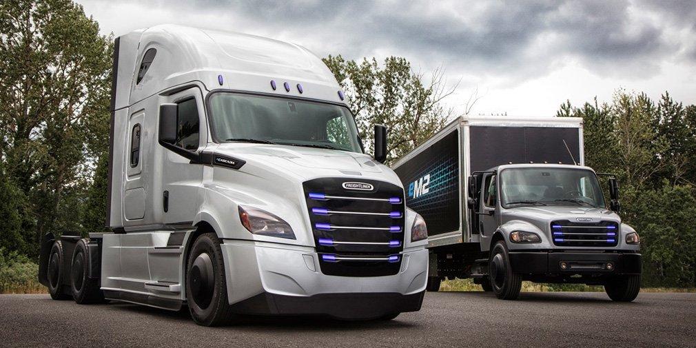 Концерн Daimler представил два новых электрических грузовика