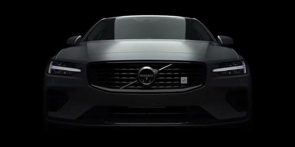 Volvo показала самую мощную версию нового седана S60