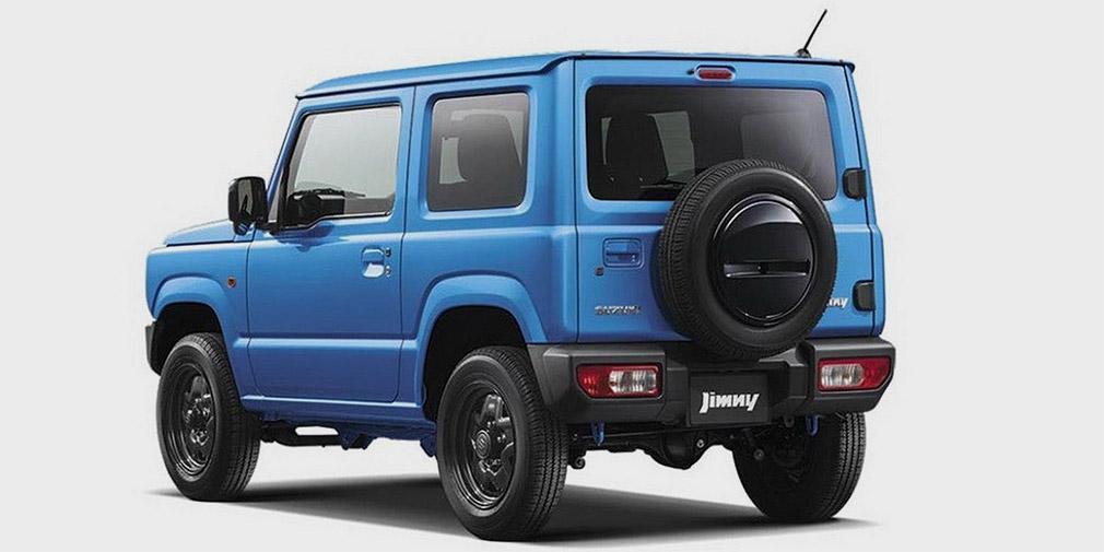 Внедорожник Suzuki Jimny нового поколения представлен на первых фото